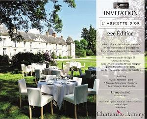 invitation assiette d'or 2017